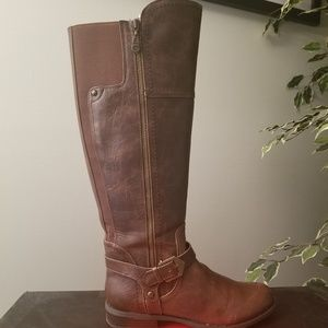 G by Guess riding boots.